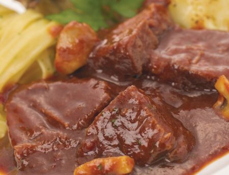 Food by Four - rundvlees-rodewijnsaus - sous-vide